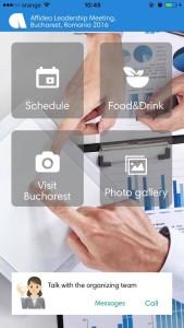 Afiidea mobile app