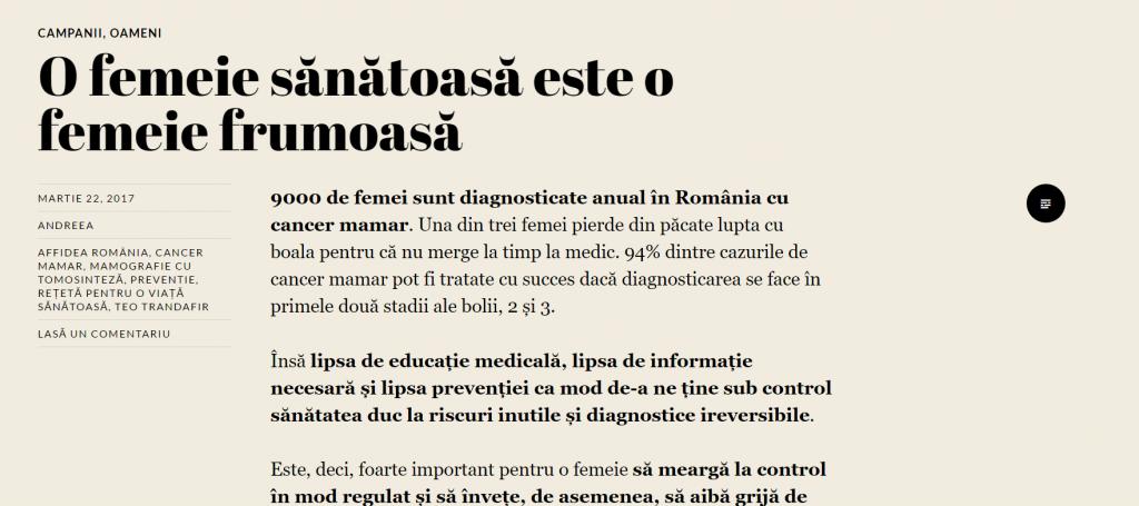 Affidea Romania